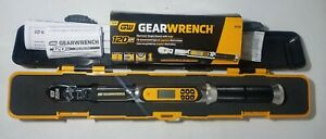 New Gearwrench 3 8 Dr 120xp Electronic Flex Head Torque Wrench W Angle 85195