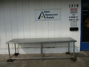 All Stainless Steel Table 108 X 30 4554