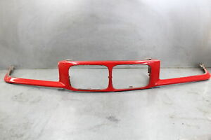 1992 1996 Bmw E36 3 Series Front Nose Panel Grilles Sedan Bright Red Oem 318 325