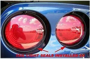 Corvette 97 2013 C5 C6 Tail Light Seal Seals Gm Grade Complete Kit