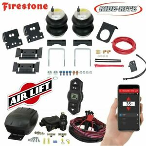 Firestone 2560 Air Bags Wireless Airlift 2013 2019 Dodge Ram 3500 Rear