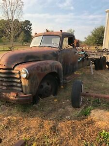 Chevrolet Truck 1947 1 1 2 Ton Was Used Until 1985 Hauling Grain