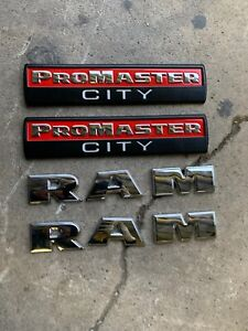 2014 2020 Dodge Ram Promaster City Side Door Oem Emblem Nameplate Badge Logo Oem