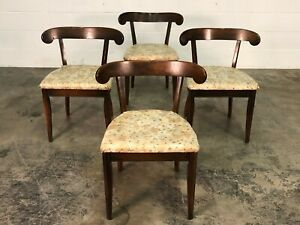 Drexel Mid Century Modern Dining Chair Set Of 4