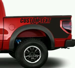 New Bedside Vinyl Decal Graphics Many Styles Blackout Fits F 150 Ford Raptor