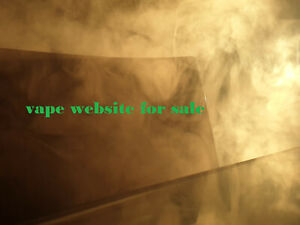 Established Website For Sale Busines Site For Vape vape Shop fast Sale