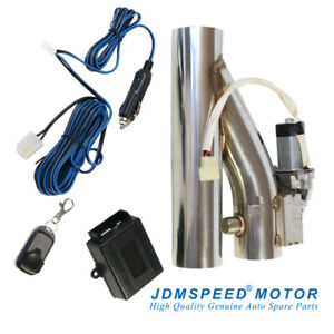 Jdmspeed 2 5 Electric Exhaust Downpipe Cutout E cut Out Valve Controller Remote