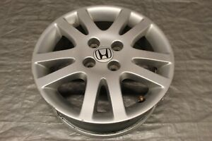 2004 04 Honda Civic Si Ep3 K20a3 Oem Wheel 15x6 45 Offset 2 4 Curb Rash 9307