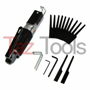 Air Body Saw High Speed Reciprocating Metal Cutting Cut Off Tool With 12 Blades