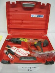 Hilti Dx 460 Concrete Fastener Nailer Powder Actuated Gun With Case 2