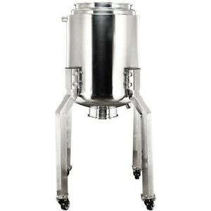 Bvv 50l Stainless Steel Jacketed Reactor