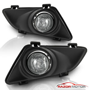 W Switch Bulb Wiring 2003 2004 2005 Mazda 6 4d Clear Bumper Fog Lights Pair