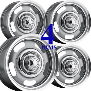 17x8 Rally Rims Rim Some Chevrolet Gmc Toyota Pickup Truck 6x5 5 Aluminum