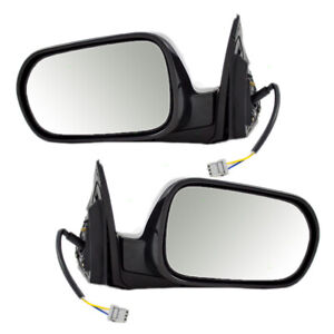 Fits Acura Rsx 02 03 04 05 06 Set Of Side View Power Smooth Mirrors Aftermarket