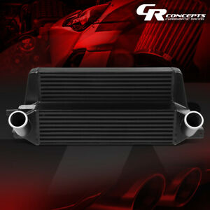 Fmic Front Mount Stepped Bar plate Intercooler For 15 19 Mustang 2 3l Ecoboost