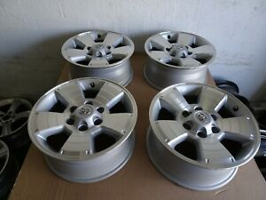4 2005 To 2015 Toyota Tacoma Oem Factory 17 Wheels Rims 6x5 5 4runner