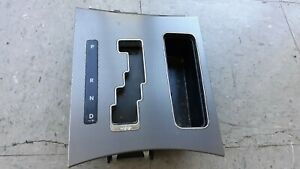 12 Dodge Charger Center Console Bezel Shift Surround Indicator Trim