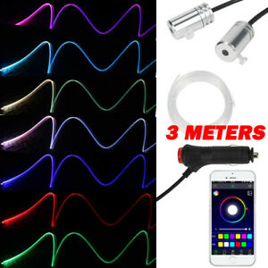 Interior Ambient Atmosphere Light 2 Led 3 Meters Strip Bluetooth App Control