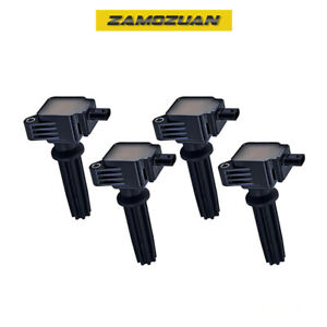 Ignition Coil 4pcs For 12 17 Ford Focus Lincoln Mkz 2 0l L4 Uf670 7805 1167