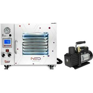 0 9cf Bvv trade Neocision Lab Certified Vacuum Oven Ve225 Series Vacuum Pump