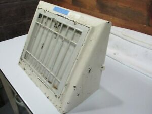 Antique Architectural Angled Wall Heat Register Parts Grate Frame Door Cover Cm