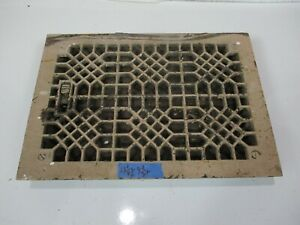 Antique Architectural Floor Heat Register Part Grate Frame Door Cover Wall Cm