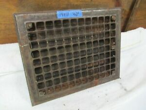 Antique Architectural Floor Heat Register Part Grate Frame Door Covers Wall Cm