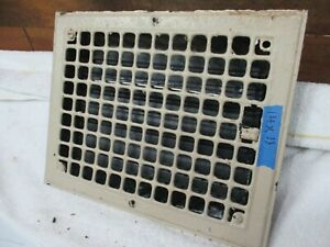 Antique Architectural Floor Heat Register Part Grate Frame Doors Cover Wall Cm