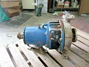 Durco Mark 3 1 X 2 10 Stainless Pump 1071052j Used