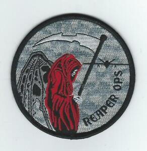 107th ATTACK GROUP quot;REAPER OPSquot; WHITE FLAG NEW patch $8.99
