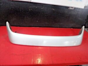 96 97 98 99 00 Honda Civic Rear Back Trunk Lid Spoiler Wing 2dr Coupe Silver