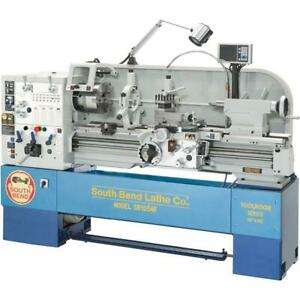 South Bend Sb1054f 16 X 40 Gearhead Lathe With Dro