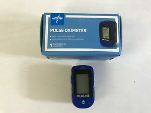 New Medline Soft touch Pulse Oximeter Hcsm70b Nib Fingertip Pulse Oximeter