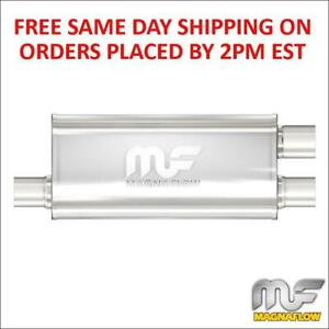 Magnaflow Stainless Steel Muffler 3 Inlet 2 5 Outlets 18 Body Length 12267