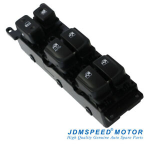 New Front Left Master Power Window Switch 93570 3k010 Fit For Hyundai Sonata