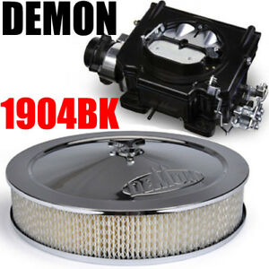 Street Demon 1904bk 750 Cfm Vacuum Carburetor Black With Air Cleaner Combo