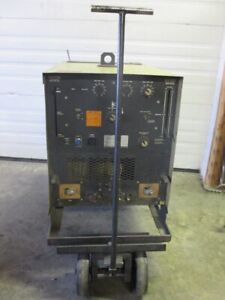 Hobart Tr 250 hf Arc Stick Tig Welder Ac dc On Cart