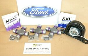 Ford F250 F350 Superduty 99 2010 Rear Driveshaft Carrier Bearing And U Joint Kit