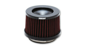 10930 Vibrant The Classic Performance Air Filter 3 Inlet Id 3 58 Filter H