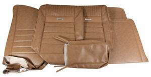 1964 1966 Mustang Deluxe Pony Front Bench Seat Cover Palomino