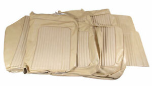 1968 Mustang Coupe Standard Front Buckets Rear Seat Cover Set parchment
