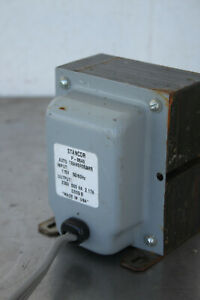 Stancor P 8640 Auto Transformer Output Voltage 230v 500va