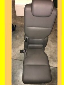2011 2012 2013 2014 2016 Honda Odyssey Middle Seat Jump Leather Truffle Drk Gray