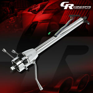 For 55 59 Chevy Gm Floor Shift Hot Rod 28 Tilt Auto Automatic Steering Column