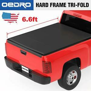 Soft Tri Fold Truck Tonneau Cover Fit For 2009 2019 Ram 1500 Crew Cab 5 8 Bed