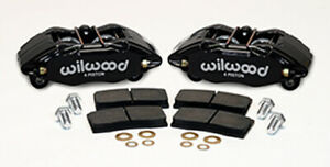 Wilwood 140 13029 90 2015 Honda Civic Front Caliper Kit Black 6369