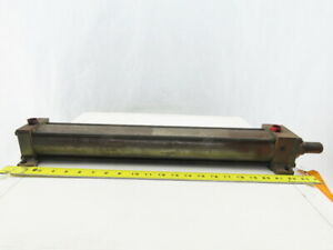Hydro line Pneumatic Air Tie Rod Cylinder 2 1 2 Bore 18 Stroke