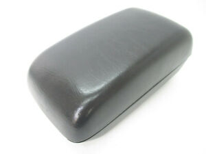 Toyota Corolla Center Console Arm Rest Lid Top Pad Cover Black 03 08