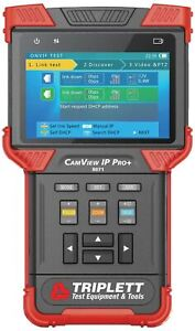 Triplett Camview Ip Pro All in one Ip Ntsc pal Ahd And Tvi Camera Tester