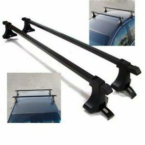 New 54 Top Roof Rack Cross Bars For 4 Door Car Suv Truck Jeep Universal 150lbs